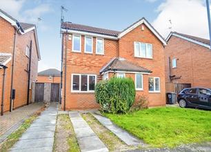 2 Bed Semi-Detached House for Sale on Hoselett Field Road, Long Eaton