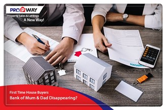 First Time House Buyers – Bank of Mum & Dad Disappearing?
